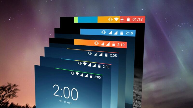 Energy Bar APK | An indicator bar for your battery life