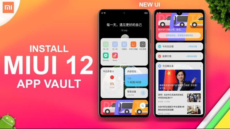 App Vault | Compile cards from apps on Xiaomi smartphones