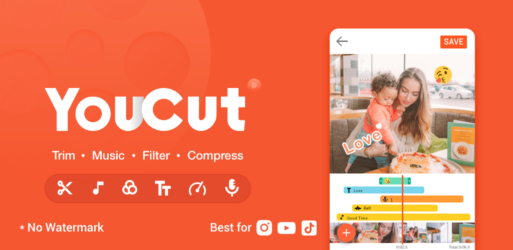 YouCut Apk Video Editor For Android Free Download